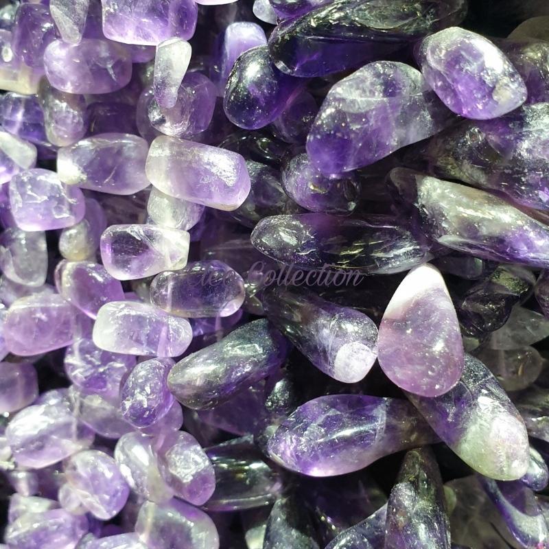 Ametiszt ásvány és féldrágakő ékszerek