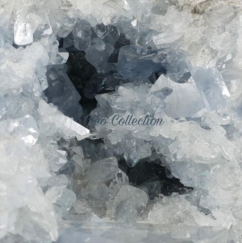 Cölesztin ásvány és féldrágakő termékek